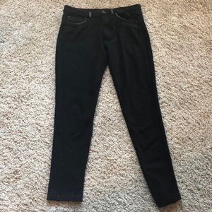 Black Forever 21 mid calf pants. XS.